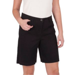 Women's Larry Levine Twill Shorts