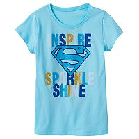 Girls 7-16 DC Comics Superman