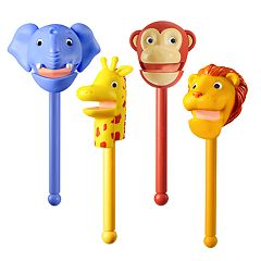Educational Insights Puppet-on-a-Stick Zoo Crew Set by