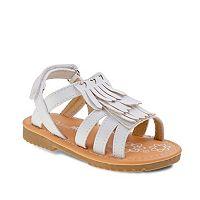 Petalia Toddler Girls' Fringe Sandals