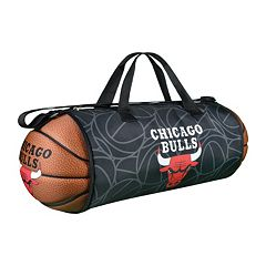 Chicago Bulls Basketball to Duffel Bag by