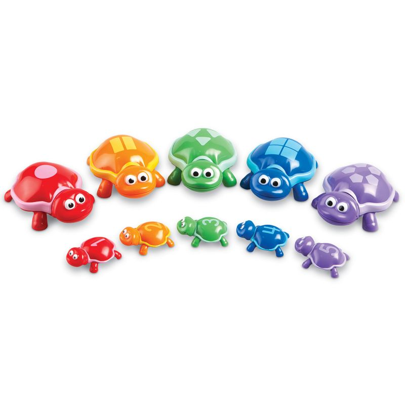 Learning Resources Snap-n-Learn Number Turtles, Multicolor thumbnail