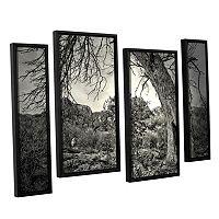 ArtWall Listen To Whispers Framed Wall Art 4-piece Set