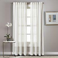 Curtainworks Diamond Patterned Sheer Curtain