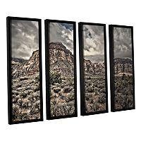 ArtWall ''No Distractions'' Framed Wall Art 4-piece Set