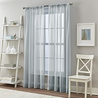 Curtainworks 2-pack Solid Cape Sheer Curtain