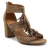 sugar Rocket Women's Block Heel Sandals