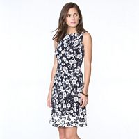 Women's Chaps Floral Fit & Flare Dress