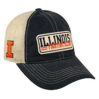 Adult Top of the World Illinois Fighting Illini Patches Adjustable Cap