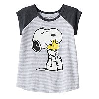 Toddler Girl Jumping Beans® Peanuts Snoopy & Woodstock Graphic Tee
