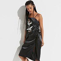 k/lab Embroidered Slip Dress
