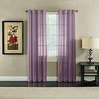 Miller Curtains Robin Sheer Textured Curtain