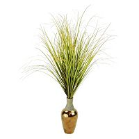 Designs by Lauren Contemporary Artificial Maiden Grass Plant