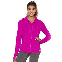 Women's FILA SPORT Hooded Running Jacket