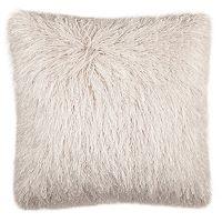 Safavieh Modish Metallic Shag Throw Pillow