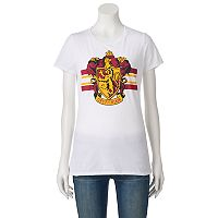 Juniors' Harry Potter Gryffindor Crest Graphic Tee