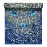 Gaiam 6mm Peacock Lace Reversible Yoga Mat