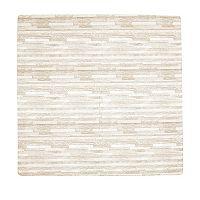 Tadpoles 4-pc. 24-Inch Wood Grain Print Foam Playmat Set