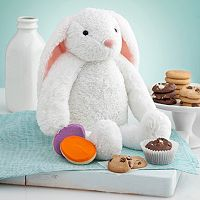 Mrs. Fields Plush Bunny & Cookies Gift Set