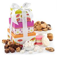Mrs. Fields Spring Cookie Treats Gift Tower