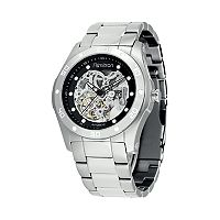 Armitron Men's Stainless Steel Automatic Skeleton Watch - 20/4406SVSV