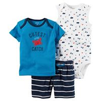 Baby Boy Carter's Boat Bodysuit,