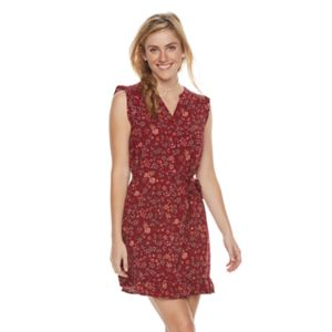 Women's SONOMA Goods for Life™ Floral Ruffle Shift Dress