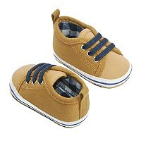 Baby Boy OshKosh B'gosh® Canvas Low Top Sneaker Crib Shoes