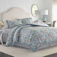 Laura Ashley Lifestyles 4-piece Olivia Comforter Set