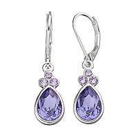 Dana Buchman Crystal Teardrop Earrings