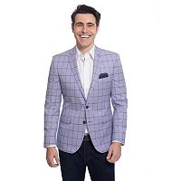Men's Nick Dunn Modern-Fit Windowpane Sport Coat