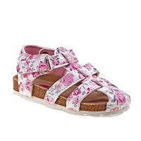 Rugged Bear Toddler Girls' Floral Sandals
