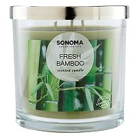 Sonoma Goods for Life Fresh Bamboo 14-Oz. Candle Jar Deals
