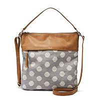 Relic Sophie Polka Dot Convertible Crossbody Bag