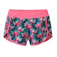 Girls 7-16 RBX Printed Mesh Shorts