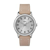 Timex Women's New England Leather Watch - TW2R23200JT