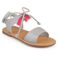 Journee Braya Girls' Sandals
