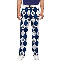 Men's Loudmouth Detroit Tigers Argyle Pants
