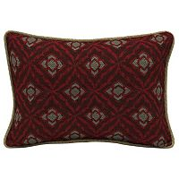 Bombay® Outdoors Geo Floral 2-piece Reversible Oversize Oblong Throw Pillow Set
