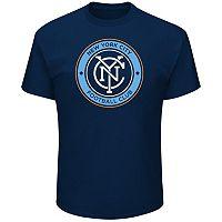 Men's Majestic New York City FC Logo Tee