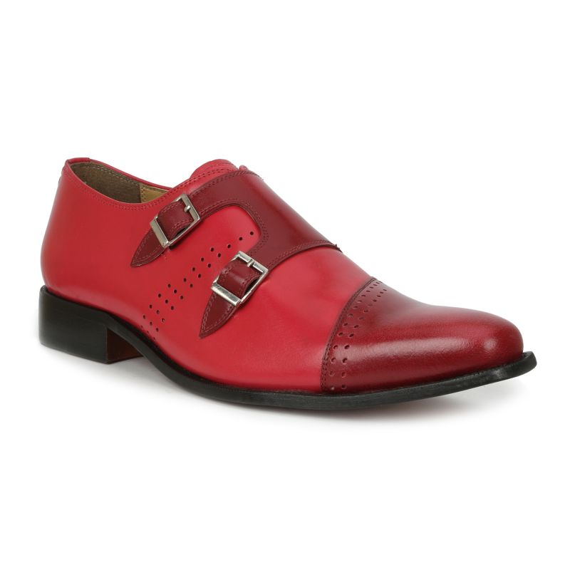 Giorgio Brutini Carbonne Men's Dress Shoes, Size: medium (8.5), Red thumbnail