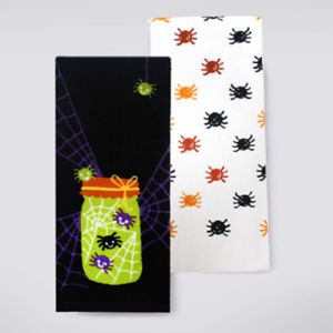 Celebrate Halloween Together Welcome To Our Web Kitchen Towel 2-pk.