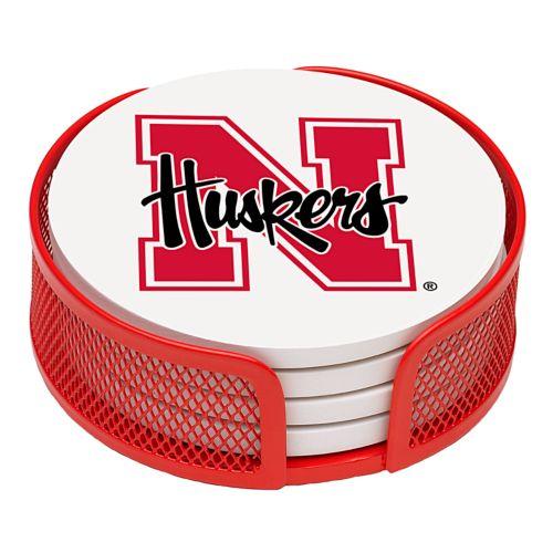 Thirstystone University of Nebraska Coaster Set