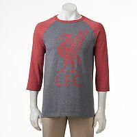 Men's Liverpool FC Raglan Logo Tee
