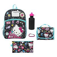 Kids Hello Kitty® 5-pc. Backpack & Lunch Box Set