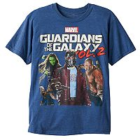 Boys 8-20 Marvel Guardians of the Galaxy Vol. 2 Group Shot Tee