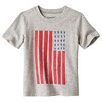 Toddler Boy Jumping Beans® Patriotic Flag Tee