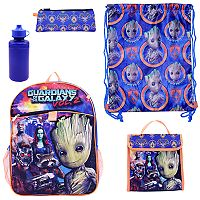 Marvel Guardians of the Galaxy Vol. 2 5-pc. Backpack Set