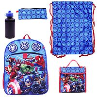 Marvel Avengers 5-pc. Backpack Set