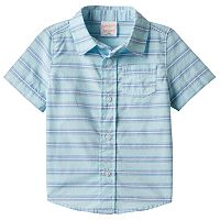 Toddler Boy Jumping Beans® Striped Button-Front Shirt